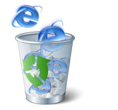 Det er på tiden å kaste IE6 i søpla, slapp av, koden er resirkulert og kom ut mye penere etterpå