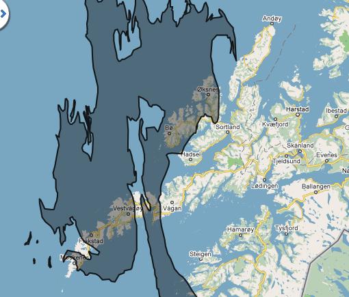 Oljeflaget fra Mexico-gulfen flyttet til Lofoten. Et skremmende prospekt