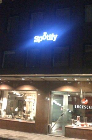 Spotyfys kontorer i Stockholm