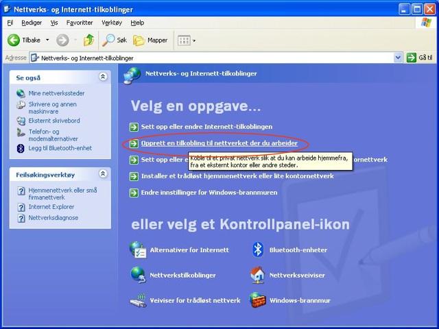 verktøylinjen i internet explorer